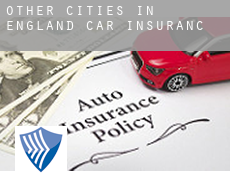 Other cities in England  car insurance